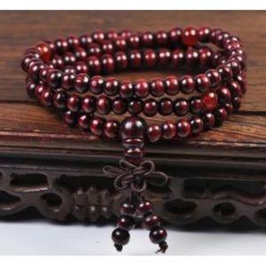Yoga Meditation Sandalwood Mala Bead Brace…